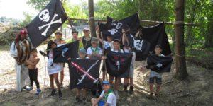 Camp2020 louveteaux sur les pirates