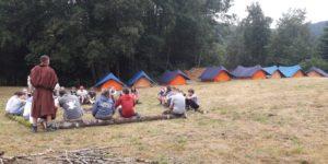 Camp scout Altkirch à Fresse