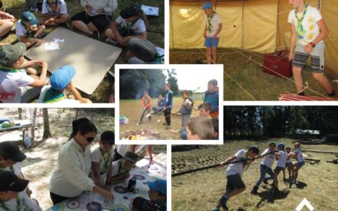 Les activités durant le camp louveteaux