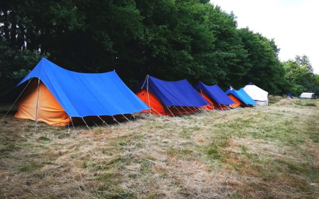 Camp dans le sud