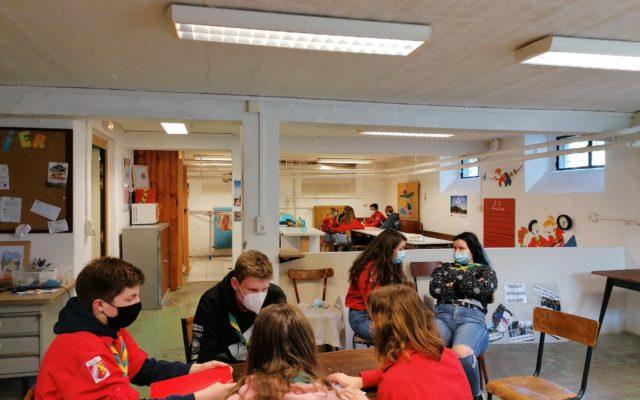Brainstorming chez les pionniers caravelles d'Altkirch