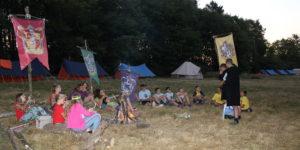 Imaginaire scout camp magie