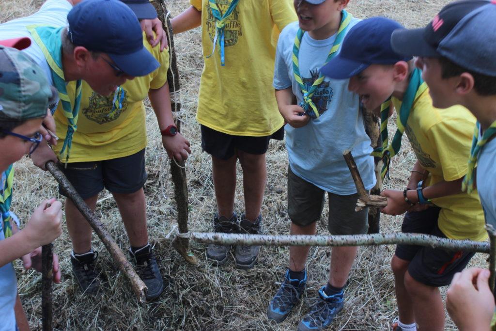 Quidditch moldu scout entrainement