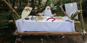 Imaginaire de camp scout sur le royaume de ghenjoi